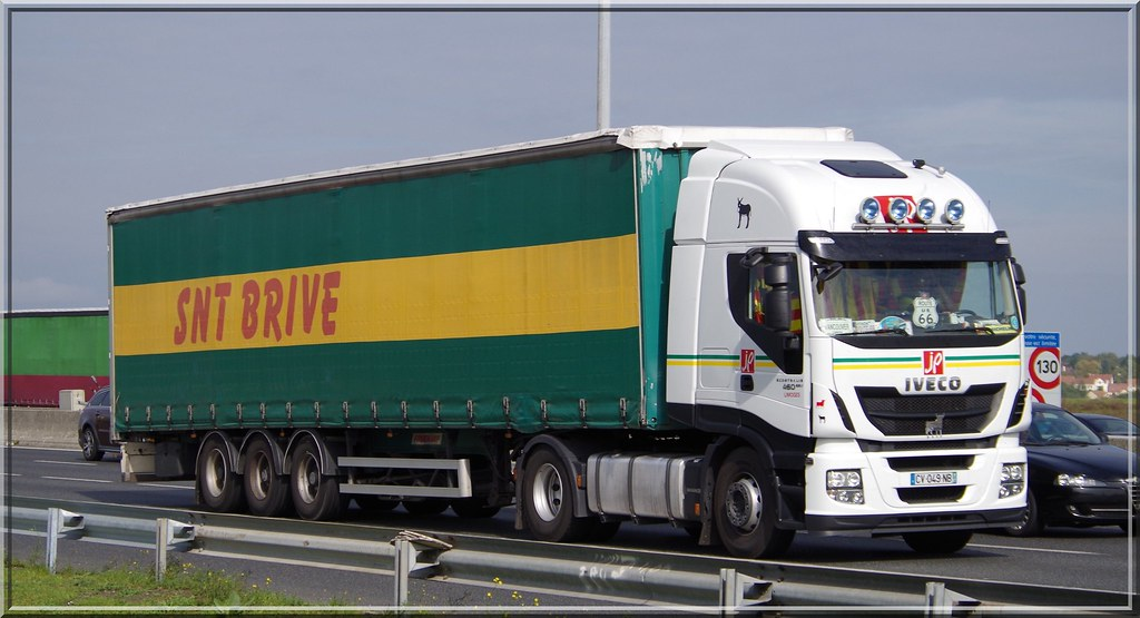 Iveco_Stralis 460 Hi-Way, JP (Transports Jacky Perrenot) L… | Flickr