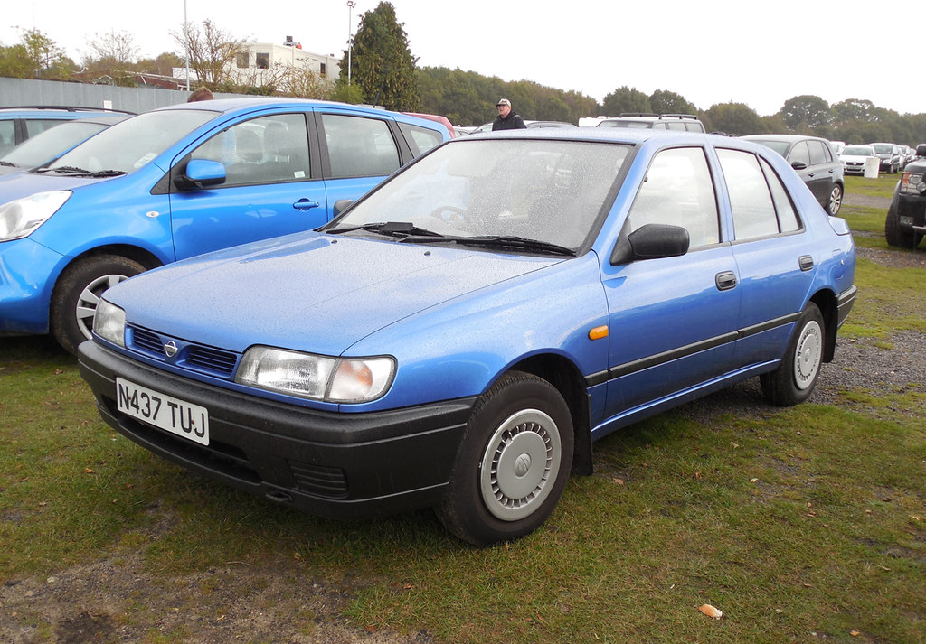 1995 nissan sunny 1 4 preview n14 i 39 ve seen a shot of. Black Bedroom Furniture Sets. Home Design Ideas