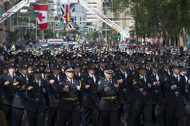 Regimental Funeral Procession 5481