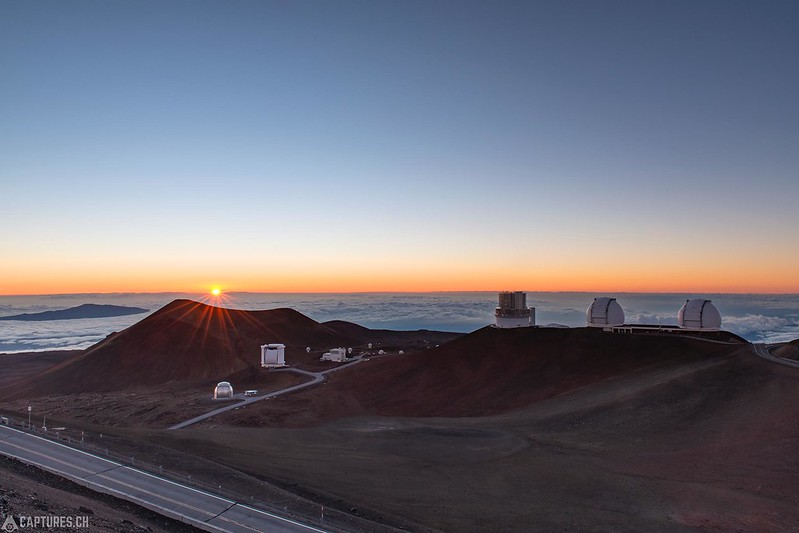 Sunset at Mauna Kea - Big Island