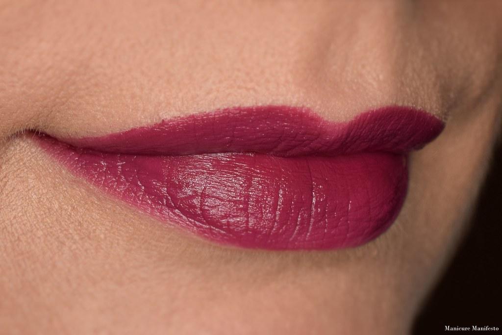 Howl Cosmetics Prowl lipstick swatch