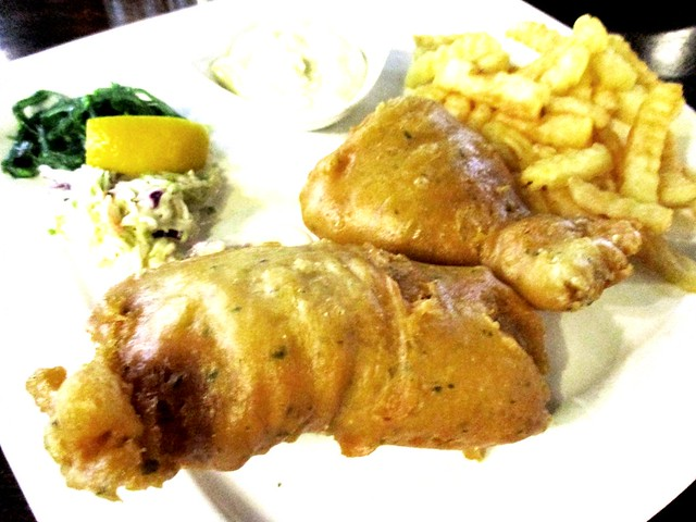 Eco Delite fish and chips