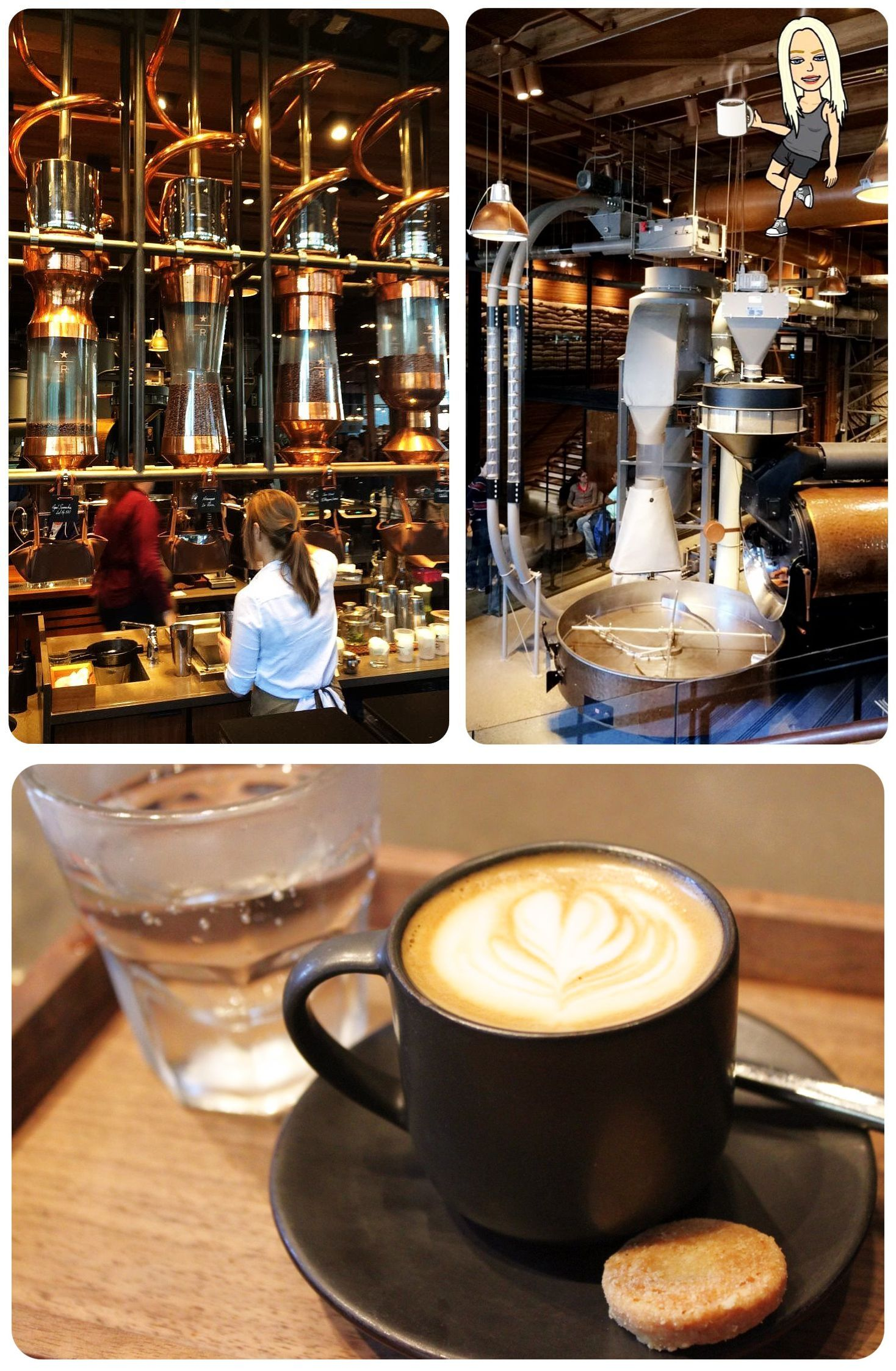 Seattle Starbucks Reserve & Roasting Room