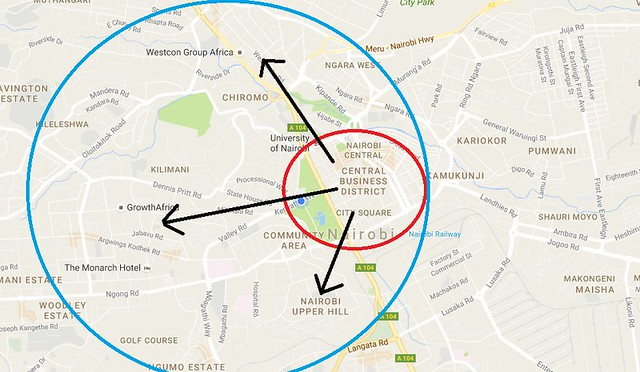 Nairobi Concentric Changes