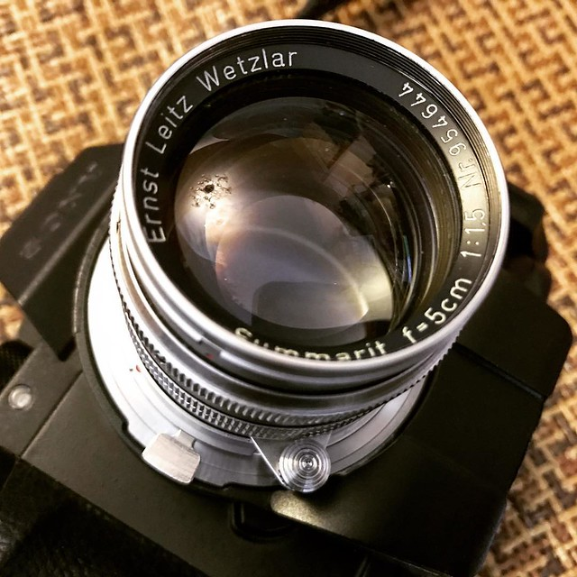 Leica 5cm f1.5 萊卡的聖光