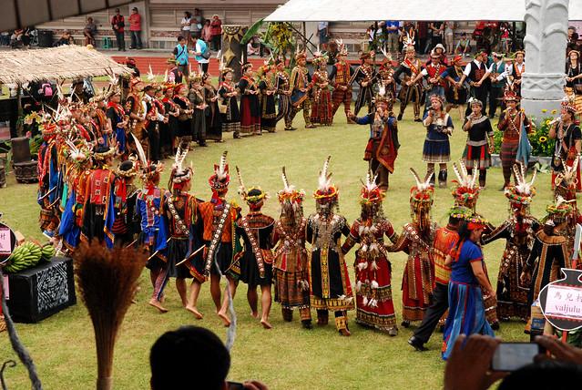 2012排灣族收穫祭。(攝影:黃永坤)圖片來源:洪孝宇提供;非經同意請勿轉載。