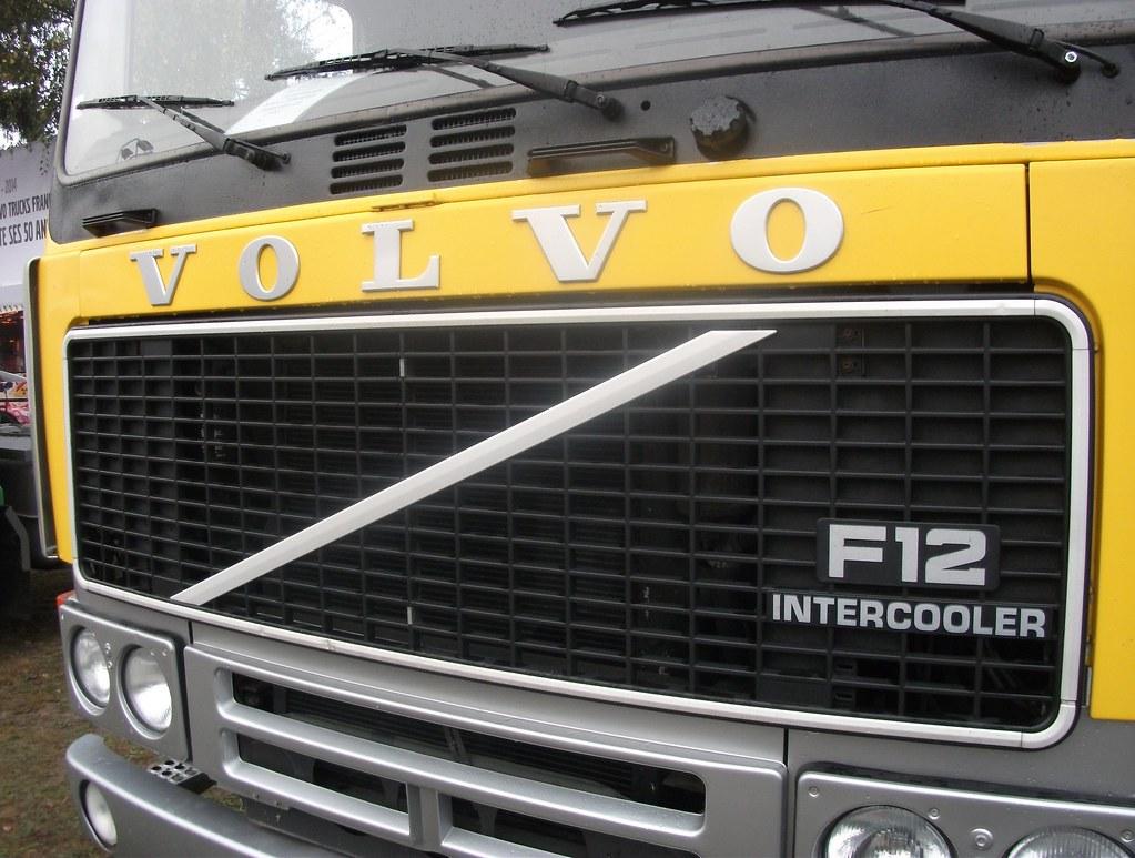 Volvo F12 Intercooler Calandre Reportage Photo R 233 Alis 233
