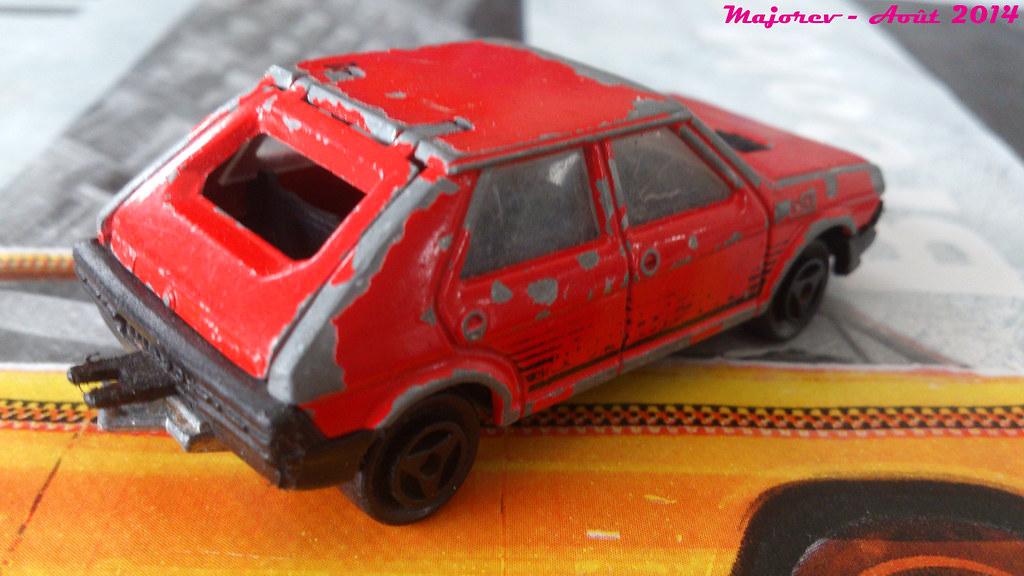 Majorette Fiat Ritmo Abarth R 233 F 239 Rouge Ech 1 59