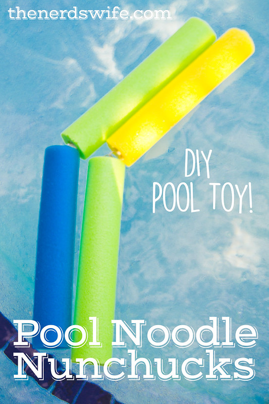 Pool Noodle Nunchucks