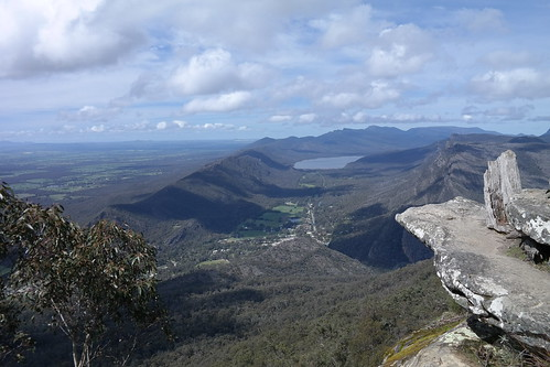View of Hallsgap from the top