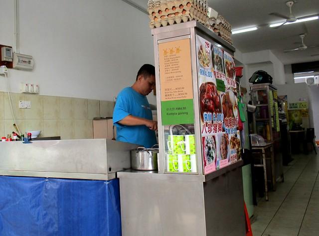 Champion Corner stall