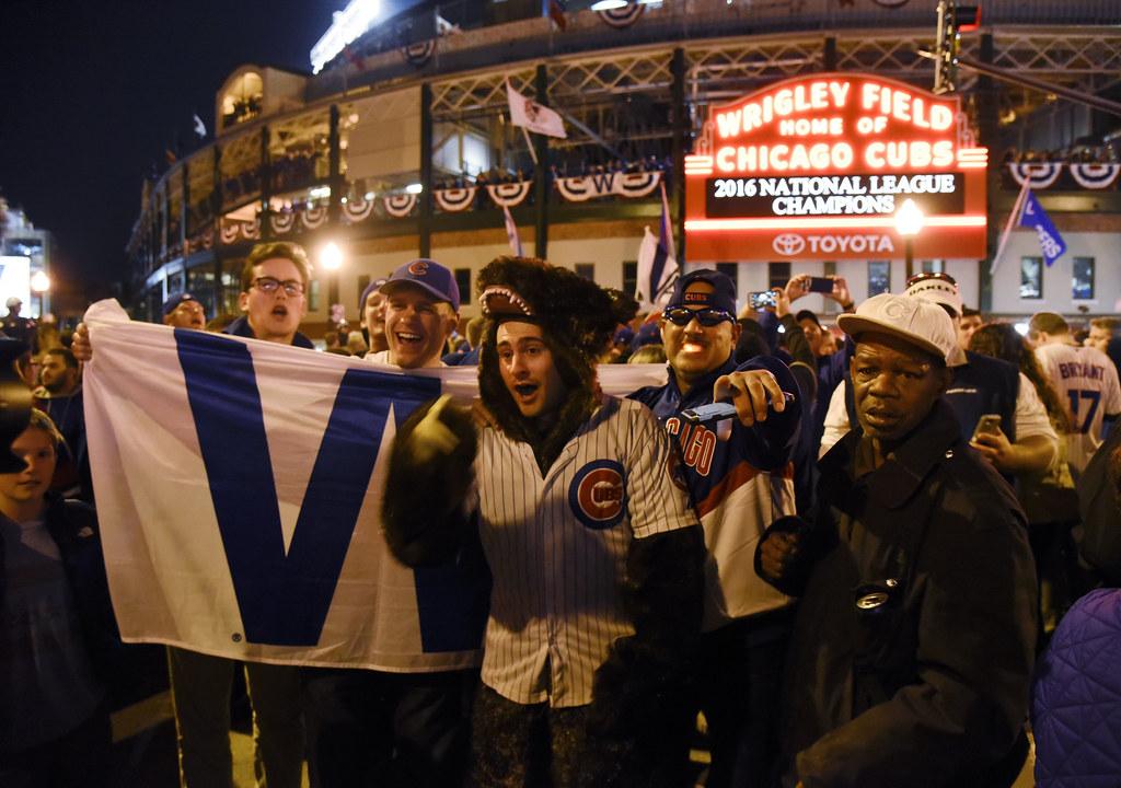 芝加哥小熊球迷。(達志影像資料照)