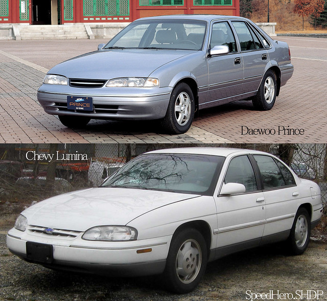 The two are near twins, with slight proportional differences and major drive train differences. Oddly enough the motor offered in both the American FWD Lumina, and the Australian RWD Commodore were nearly identical engines.