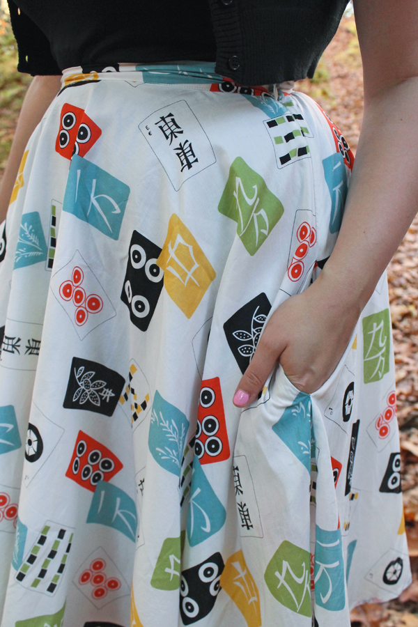 mahjong skirt