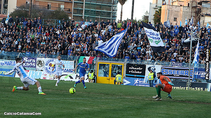 Siracusa-Catania 1-0: Avvisaglie per gennaio