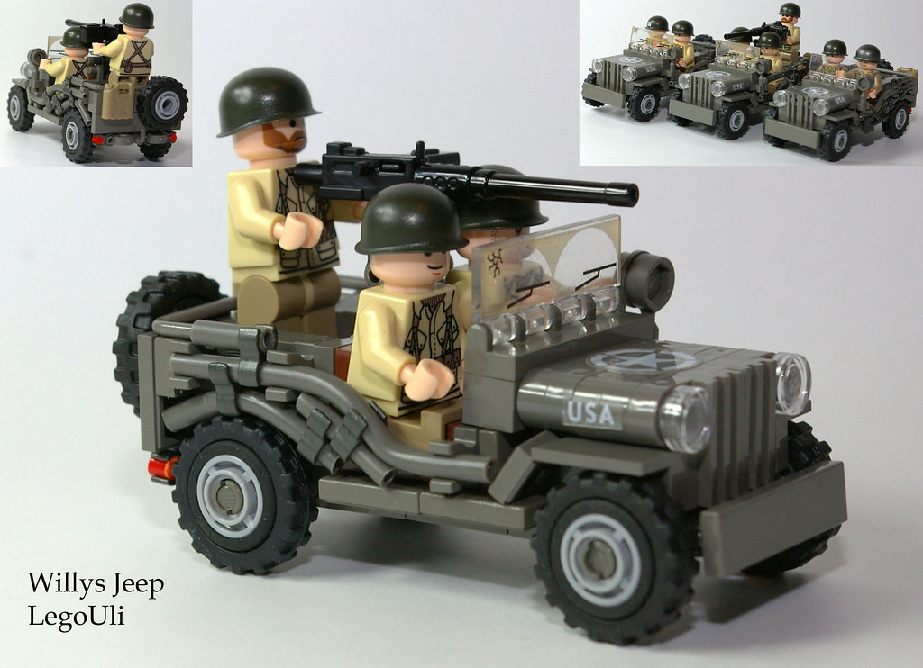Willys Jeep I Merged The Design And Construction Elements Flickr