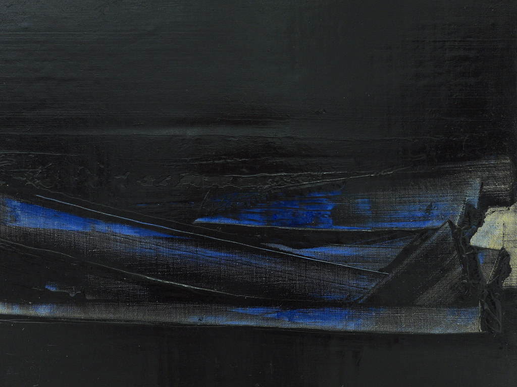midnight blue pierre soulages 1926 rodez peinture. Black Bedroom Furniture Sets. Home Design Ideas
