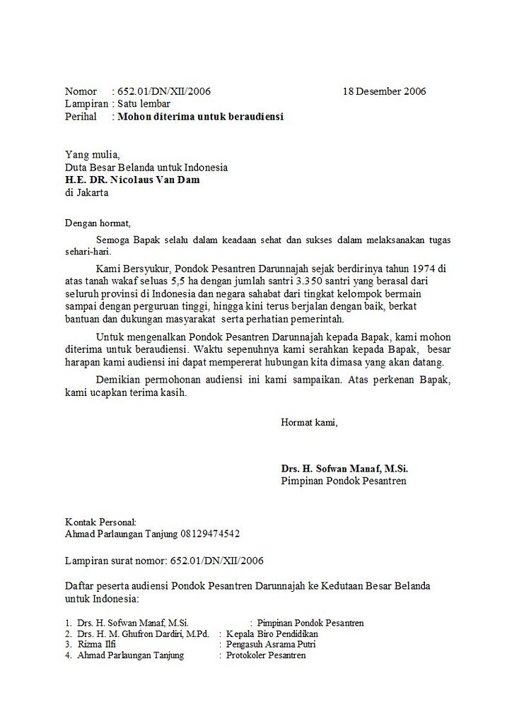 Contoh Surat Ikatan Dinas Perusahaan | Contoh Surat Ikatan ...