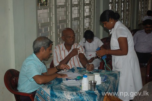Medical Camp for Members of Governor's Senior Citizen Club – 17 October 2014