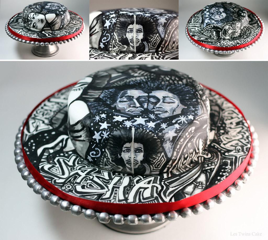 Image Of A Big Birthday Cake