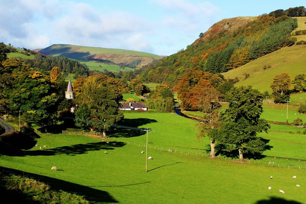 Llanarmon Dyffryn, Ceiriog, Wales