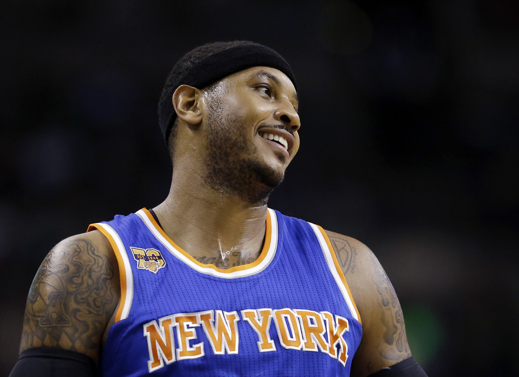 Carmelo Anthony。(資料照,達志影像)
