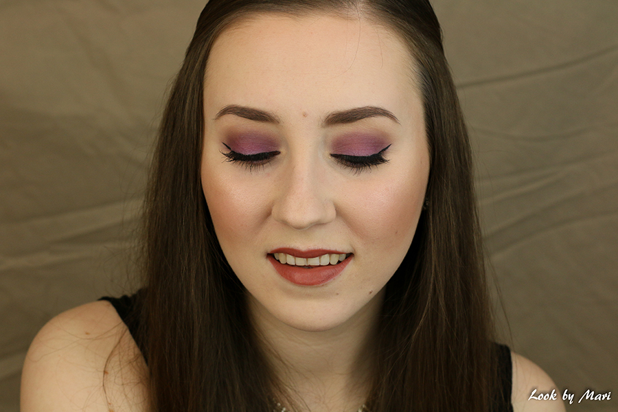 3 purple lilac violet eye makeup for fall autumn