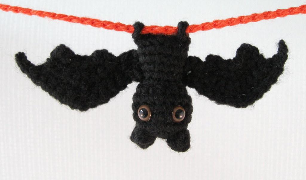 Make Amigurumi Bat Crochet : Itty Bitty Bat amigurumi Make this cute amigurumi bat ...