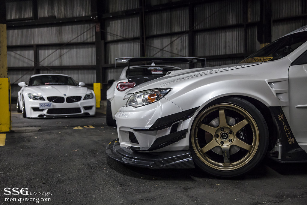 Duke Dynamics Widebody Z4 E89 Amp Varis Widebody Sti Flickr