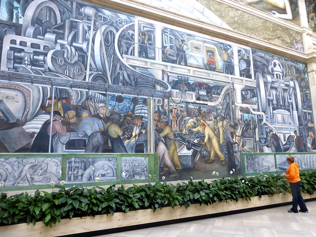 Photo for Diego rivera detroit mural