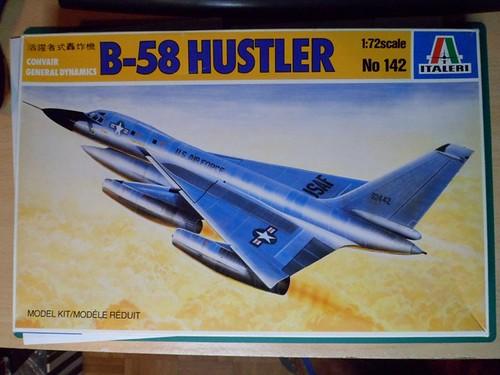 *Montage en cours* Convair B-58 Hustler [Italeri 1/72] 15549373101_3cd863b691