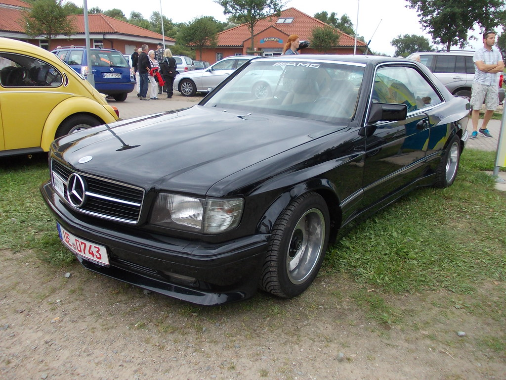 mercedes benz 500 sec amg 1982 bleckede 2014 hog. Black Bedroom Furniture Sets. Home Design Ideas