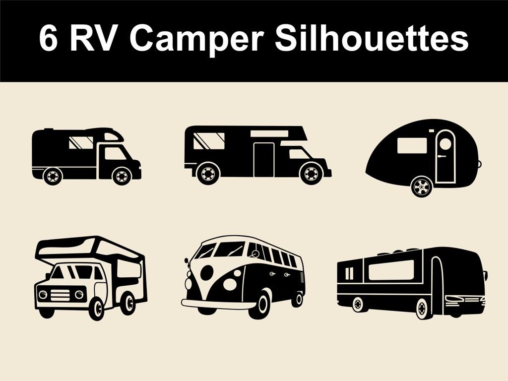 Cool Silhouette Design Store View 60329 Camper