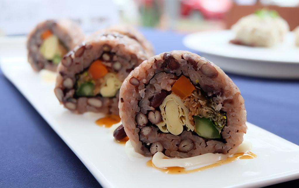 《台灣豆陣行》活動現場展示多種豆類食譜 攝影:陳文姿