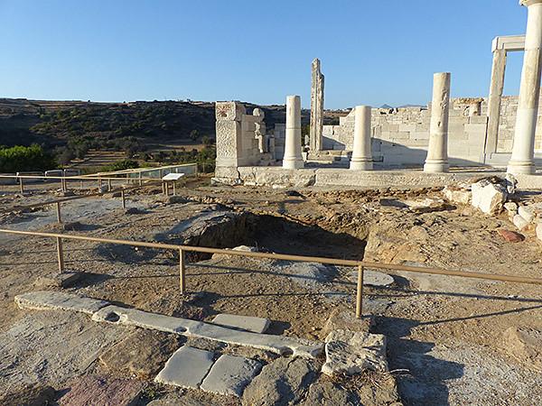fouilles temple de demeter