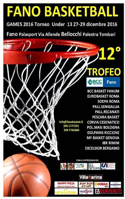 2016-2017 MY Basket Genova a Pesaro