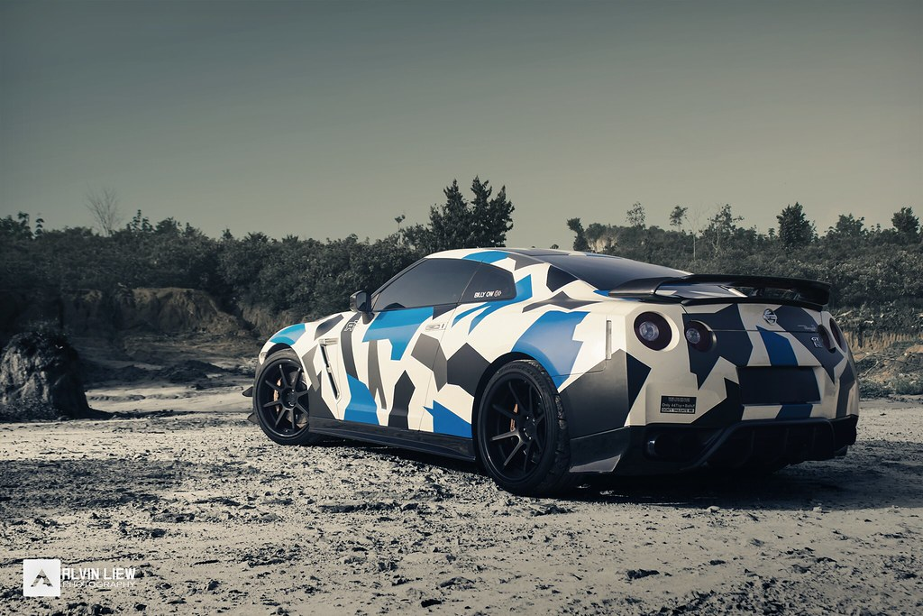 Camouflage Nissan Gtr Alvinliew Photography Flickr