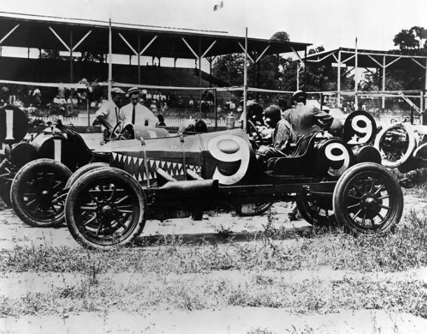 1911 Case Race Car At Indianapolis 500 Will Jones Driver