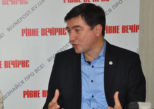 Президент ПФЛ Сергій Макаров: «Перемоги «Вереса» слід підкріпити будівництвом стадіону»