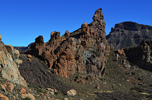 View of Roques de Garcia, Tenerife