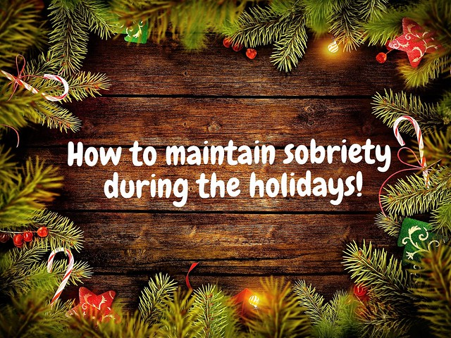 holiday sobriety
