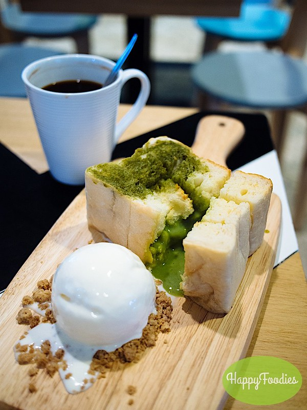 The Green Tea Lava Toast