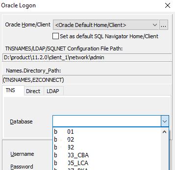 sql navigator database not blank to select @k3lvinmitnick.com