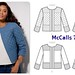 McCalls7549 quilted jacket pattern env