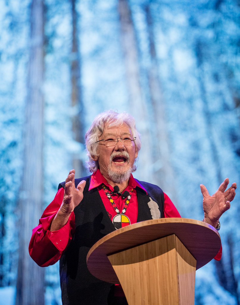 David Suzuki Blue Dot