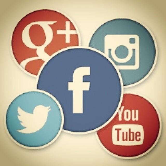#WeAreSocial. Find us on; Facebook, Twitter, GooglePlus, I… | Flickr
