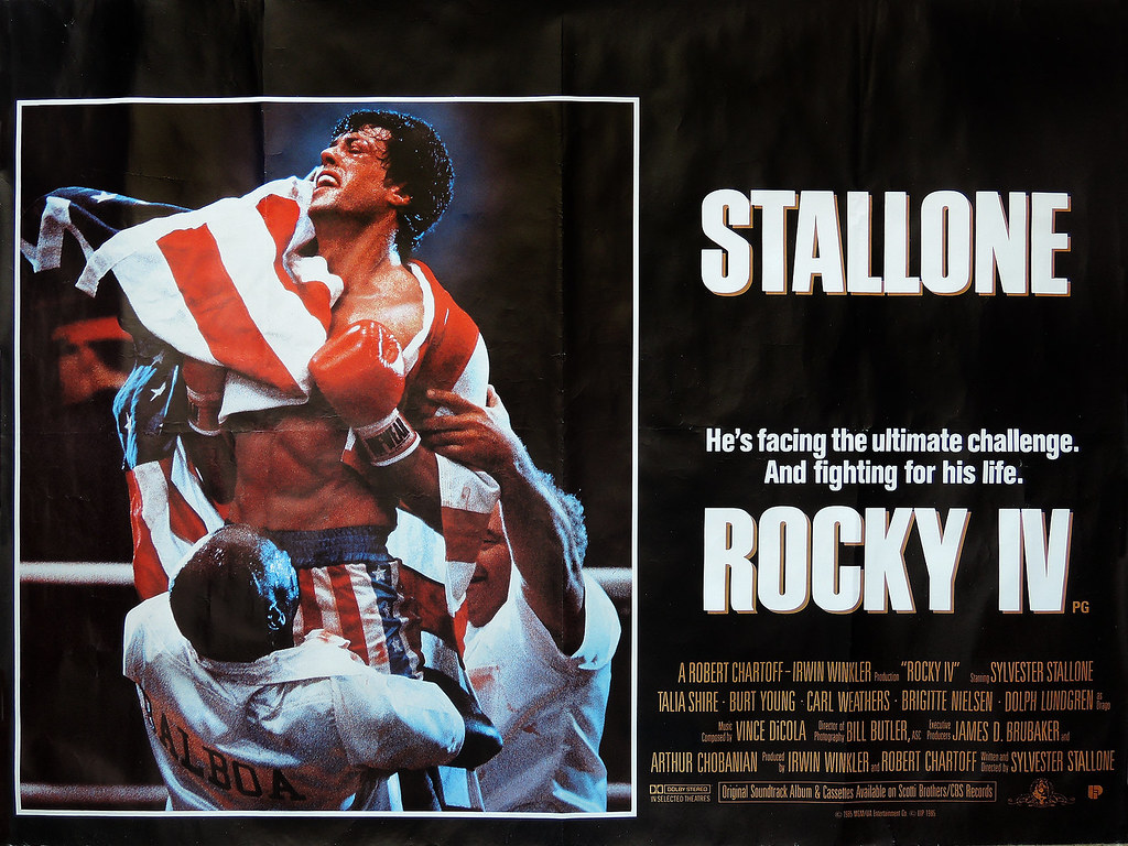 Image result for rocky IV promotional poster