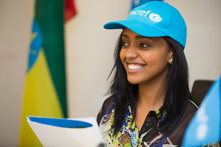 Abelone Melese appointed the new UNICEF National Ambassador to Ethiopia following the footsteps of Aster Awoke and Hannah Godefa.