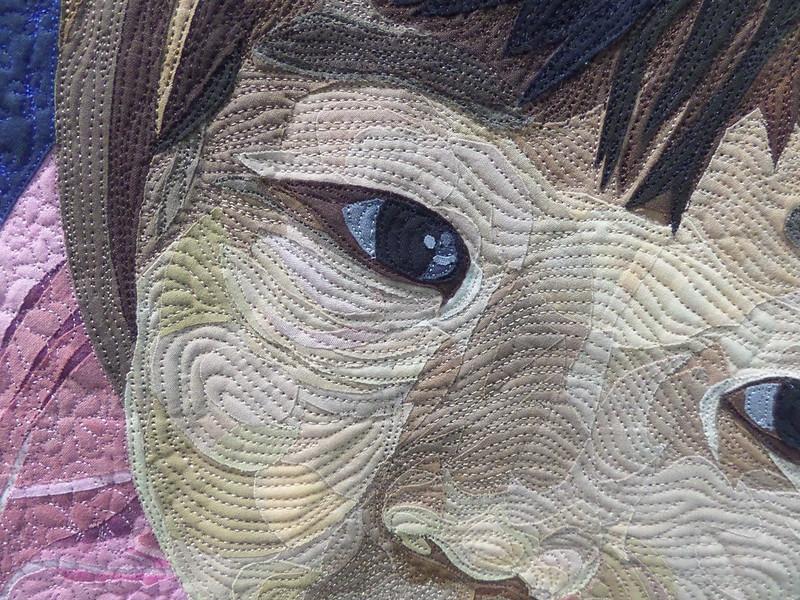 Detail from Duck Face by Hiroko and Masanobu Miyama