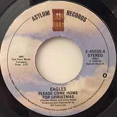 EAGLES:PLEASE COME HOME FOR CHRISTMAS(LABEL SIDE-A)